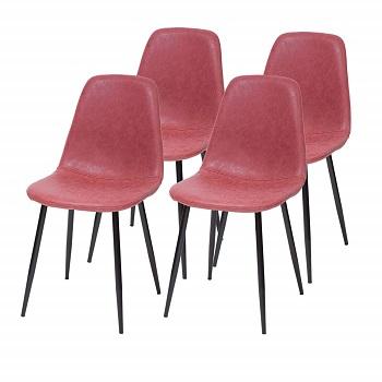 sillas nordicas eames rosas baratas