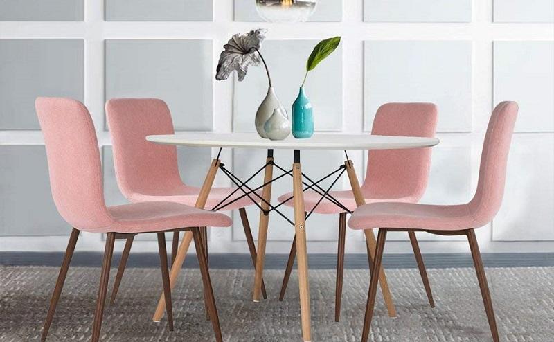 comprar silla eames rosa