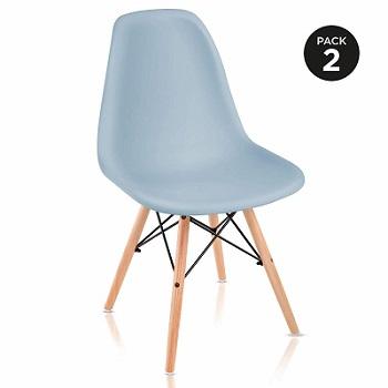 pack sillas eames azules