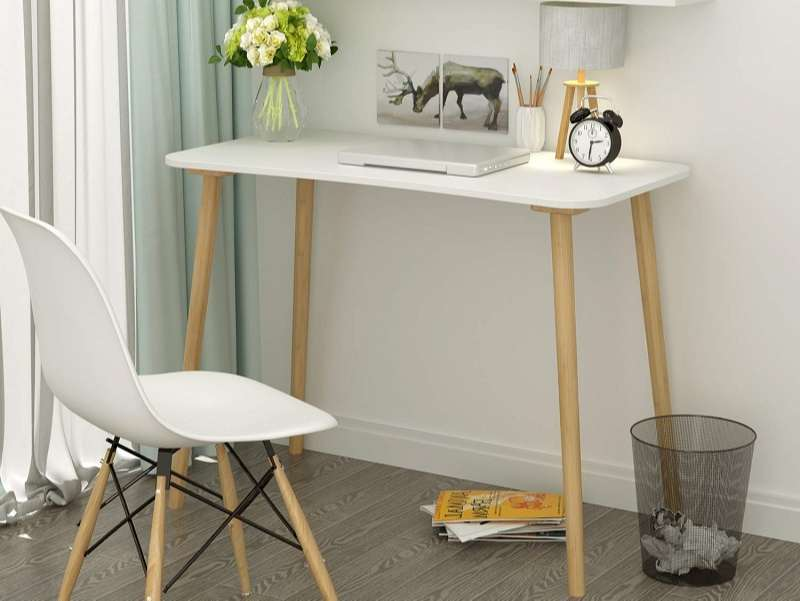 mesa escritorio escandinava